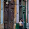 Cuba Havana Centro Havana Two Women in a Doorway March 2017