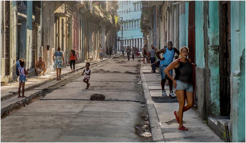 Cuba Havana Centro Havana Street Scene 23 March 2017