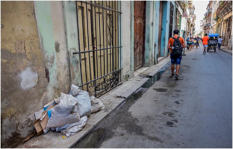 Cuba Havana Centro Havana Street Scene 3 March 2017