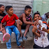Cuba Havana Centro Havana Six Kids 2 March 2017