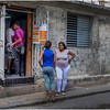 Cuba Havana Centro Havana Street Scene 33 March 2017