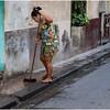 Cuba Havana Centro Havana Street Scene 17 March 2017