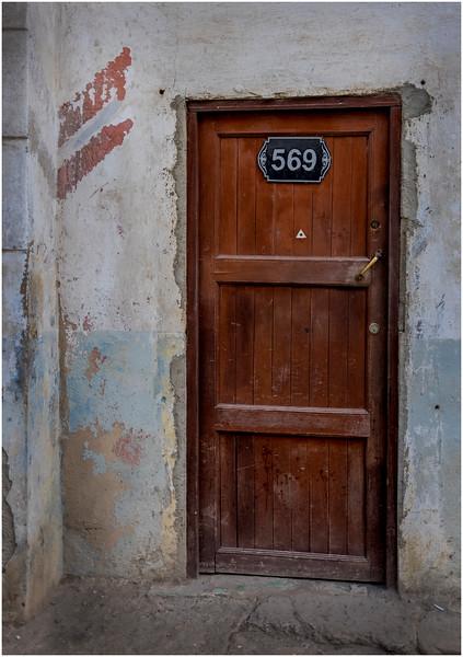 Cuba Havana Centro Havana Doorway 4 March 2017