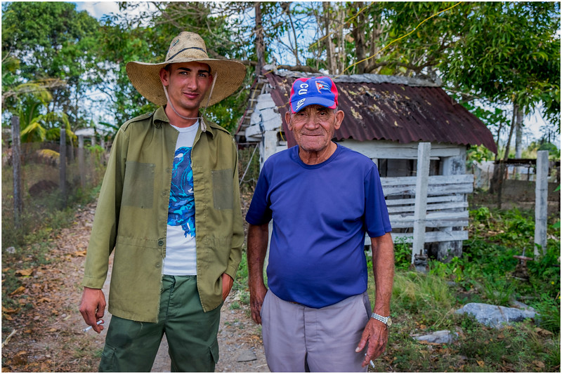 83 Cuba Western Province Two men with Cigarettes March 2017