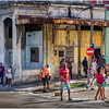26 Cuba Havana Santos Suarez Street Scene 27 March 2017