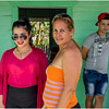 82 Cuba Western Province Mother, Daughter and Son on a Green Porch March 2017