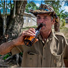 81 Cuba Western Province Farm Worker with Beer March 2017