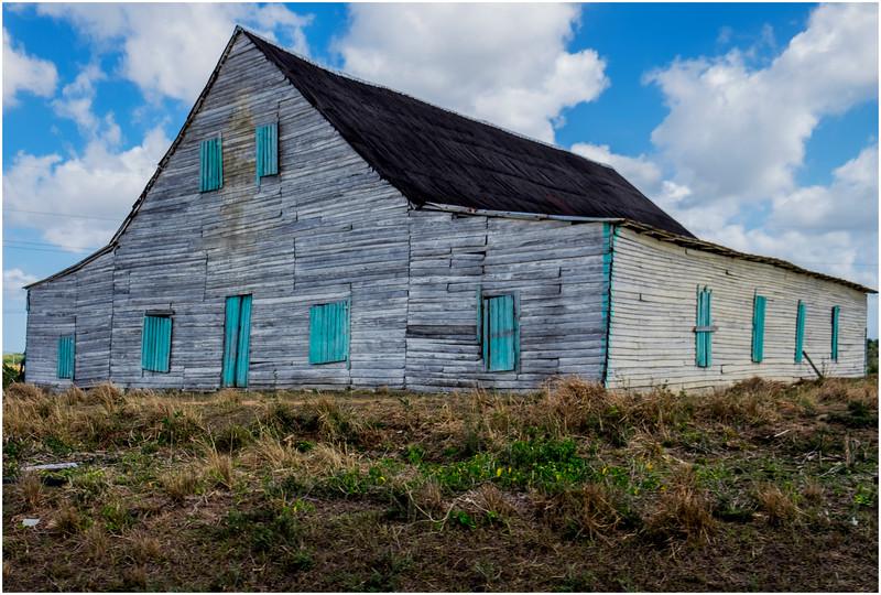 73 Cuba Western Province Barn near Highway 3 March 2017