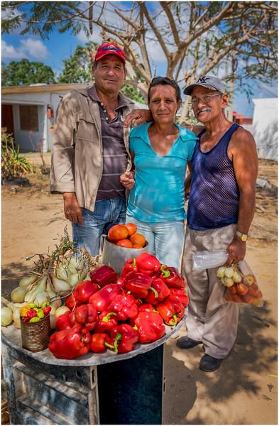 55 Cuba Western Province Produce Vendor at the Crossroads 3 March 2017