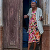 78 Cuba Havana Centro Havana Woman on Doorstep 2 March 2017