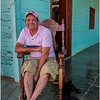 80 Cuba Playa Baracoa 42 Man on Porch March 2017