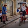 Cuba Havana Old Havana Bici Taxi 17 March 2017