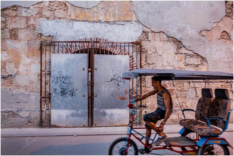Cuba Havana Old Havana Bici Taxi 6 March 2017