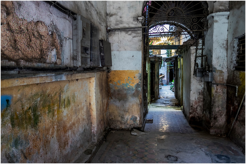 Cuba Havana Old Havana Interior Grotto 1 March 2017