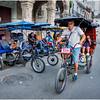 Cuba Havana Old Havana Bici Taxi 5 March 2017