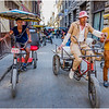 Cuba Havana Old Havana Bici Taxi 13 March 2017