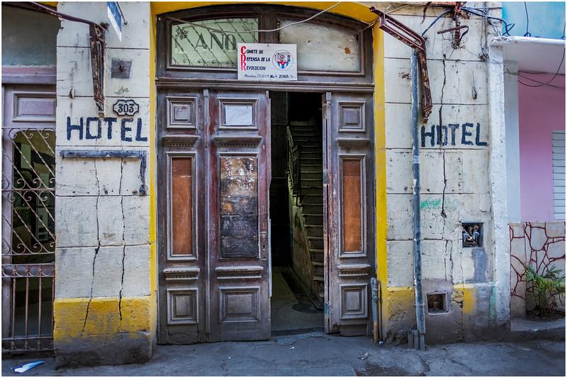 Cuba Havana Old Havana Hotel 2 March 2017