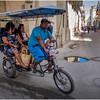 Cuba Havana Old Havana Bici Taxi 9 March 2017