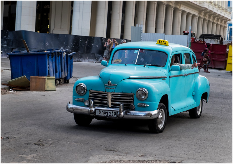 Cuba Havana Old Havana Classic Car 9 March 2017