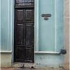 Cuba Havana Old Havana Doorway 2 March 2017