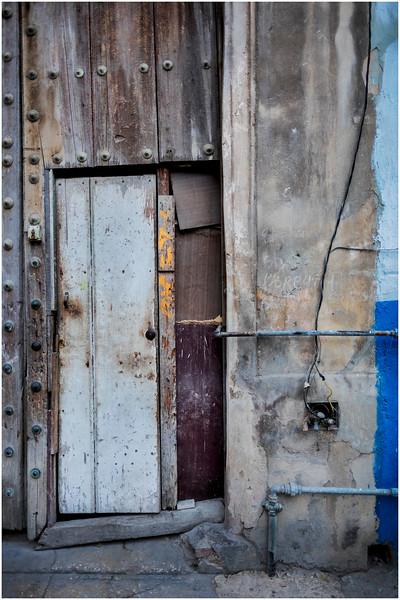 Cuba Havana Old Havana Doorway 11 March 2017