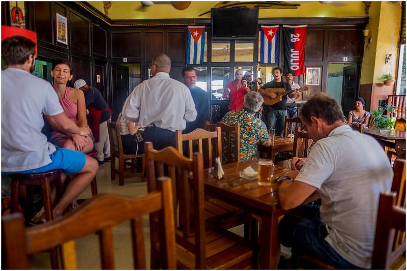 Cuba Havana Old Havana Corner Bar 1 March 2017