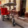Cuba Havana Old Havana Bici Taxi 12 March 2017