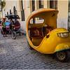 Cuba Havana Old Havana Coco Taxi 2 March 2017