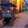 Cuba Havana Old Havana Bici Taxi 20 March 2017