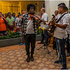 Cuba Havana Old Havana Obispo Street Salsa Band in Bar 2 March 2017