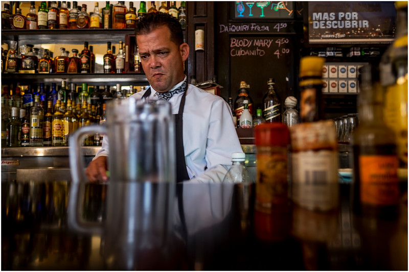 Cuba Havana Old Havana Bartender 2 March 2017