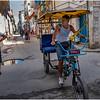 Cuba Havana Old Havana Bici Taxi 7 March 2017
