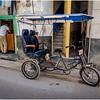 Cuba Havana Old Havana Bici Taxi 11 March 2017