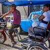 Cuba Havana Old Havana Bici Taxi 15 March 2017