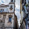 Cuba Havana Old Havana Church and Narrow Street March 2017