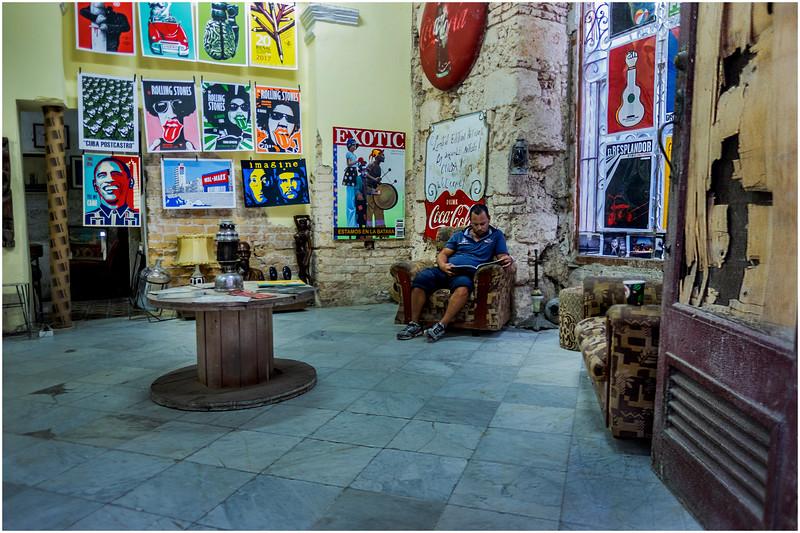Cuba Havana Old Havana Collectibles Shop March 2017