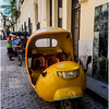 Cuba Havana Old Havana Coco Taxi 10 March 2017