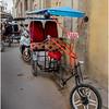 Cuba Havana Old Havana Bici Taxi 10 March 2017
