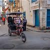 Cuba Havana Old Havana Bici Taxi 8 March 2017