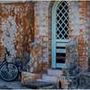 Cuba Playa Baracoa 10 Doorway and Bike March 2017