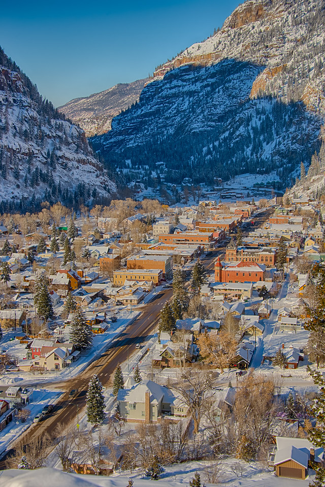 Ouray Colorado is nicknamed the Switzerland of the United States