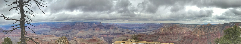 Panorama from Grandview Point; Grand Canyon