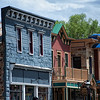 """June 29, 2010 - """"Main Street""""<br /> <br /> Historic buildings and newer additions are along Main Street in Breckenridge, Colorado.  Breckenridge has done very nicely at retaining its 1880's charm while having significant local growth in the ski industry."""