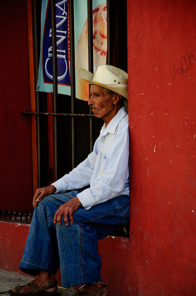 """October 21, 2010 - """"In His Own World""""<br /> <br /> Shot on the streets of Oaxaca, Mexico."""