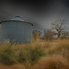 """January 30, 2011 - """"Lone Silo""""<br /> <br /> On Friday, I took some of my photog friends to my favorite farm shoot location.  Even though I have shot there several times, I can usually find a new composition.  This was the first time that I tried to isolate this small silo from the barn."""