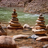 """September 30, 2011 - """"Symbolism""""<br /> <br /> I saw these stacked stones while hiking the River Walk Trail in Zion National Park last week."""