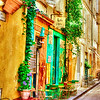 "November 27, 2011 - ""Sunday Morning In Arles""<br /> <br /> I enjoy enhancing the colors found in the Provence Region of France."