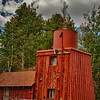 """October 9, 2011 - """"The Old Pump House""""<br /> <br /> Shot at Jacob Lake Inn, Arizona (elev.7925).<br /> <br /> I found this behind the Inn's General Store when everyone else was in the store buying cookies."""