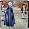 "November 26, 2012 - ""Time Traveler Approaches""<br /> <br /> I liked how the lone runner appears to be on a course to collide with the 1780 Period actors at Colonial Williamsburg."