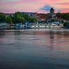 Rhone River Dusk